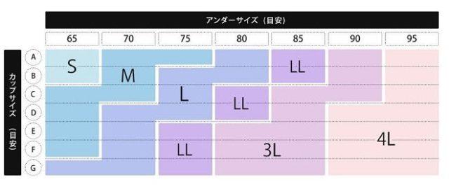 ジニエサイズ表
